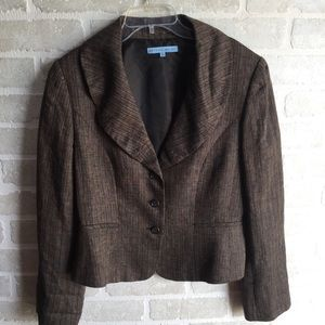 Women's Antonio Melani fitted blazer size 14